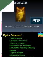 Seminar on 2 Nd December 2009