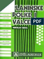 Planinske Polke i Valceri - Miroslav Berta
