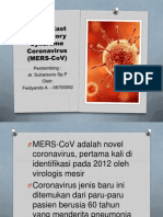 Review - Middle East Respiratory Syndrome - Feidyando A. 08700092.ppt