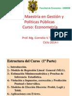 Econometr+¡a-I ( CLASES- UPG-2014-1).ppt