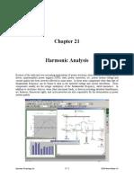 Chapter 21 Harmonic Analysis PSCAD