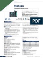 Datasheet - EDS-405A 408A Series