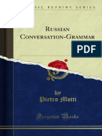 Russian Conversation Grammar