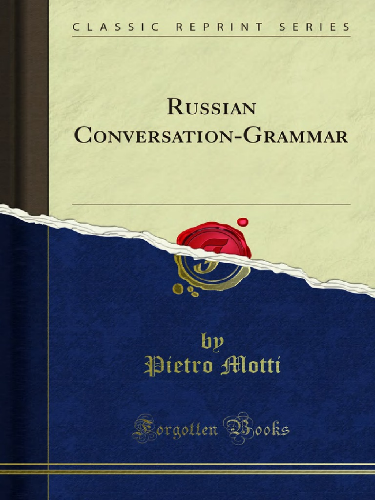 Russian Conversation Grammar Grammatical Gender