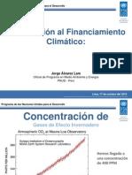 Introducción al financiamiento climático. Por Jorge Alvarez