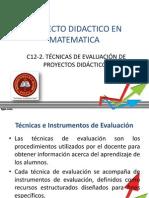 C12-2- Tecnicas de evaluacion de proyectos.pptx