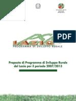 Programma sviluppo rurale del lazio 2007-2013