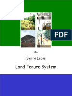 2007 Land Tenure Report - Young Leaders