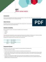 Dow Jones Corporate Bond Index Methodology