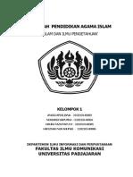 Makalah mengenai Islam Dan Ilmu Pengetahuan