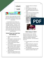 3rd grade newsletter september 2014 draft