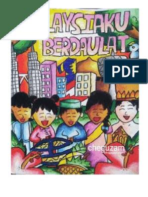 Contoh Poster Kemerdekaan