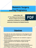 Non Obstetric Surgery During Pregnancy 2013