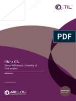 ITIL is ITIL White Paper Mar12