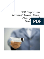 Airline Charges Report
