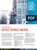 Building a bicycle friendly America