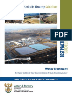 Water Treatment Plant Evaluation and Selection Process