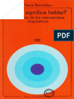 ¿Qué significa hablar Pierre Bourdieu.pdf