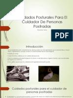 Cuidados Posturales Para El Cuidador De Personas Postradas.pptx
