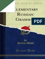 Elementary Russian Grammar 1000002523