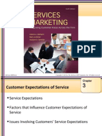 MARK938 Autumn2014 Lectures Customer Expectations of Service