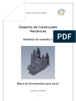 Relatório de desenho e construção
