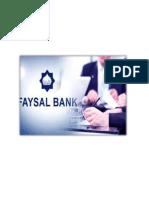 Faysal Internship Report