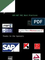 ASPNET MVC Framework - Best Practices - ENG.pptx