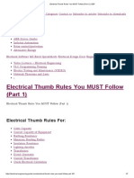 Electrical Thumb Rules You MUST Follow (Part 1) _ EEP.pdf