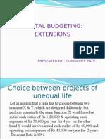 Capiatl Budgeting PPT