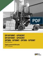 CAT Forklift Spec Sheet.pdf