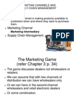 CH 14-15 Marketing Channels
