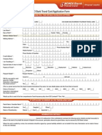 Travel Card n Multicurrency Application Form