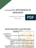 Mercadotecnia 2.3.2. Investigación Cualitativa