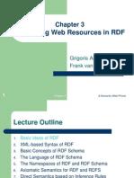 Describing Web Resources in RDF