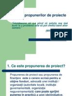 Scrierea proiectelor