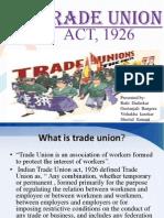 Trade Union Act 1926 (1)