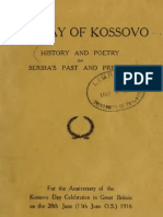 The Lay of Kosovo ; History and Poetry on Serbia`s Past and Present 1389-1917  (1917.) - Frederick William Harvey, C. Oman, Sir Arthur Evans, T. R. Gjorgjevitch, Alice and Claude Askew, G. K. Chesterton