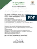 NORMAS PARA CONFECÇÃO DE PÔSTERES S. N. de C. & T. 2014.docx