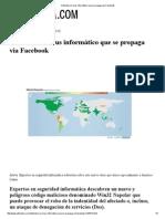 Detectan un virus informático que se propaga vía Facebook.pdf