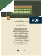convencion de nueva york de 1958 reconocimiento y ejecucion de sentencias arbitrales extranjeras - instituto peruano de arbitraje.pdf