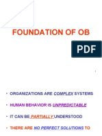 Foundation of Ob