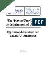 Sh. Muḥammad Ibn Ṣāliḥ Al-'Uthaymīn - Divine Pre-Decree & Ordainment of Allāh