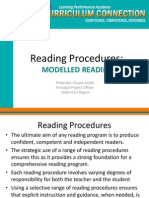 modelled reading