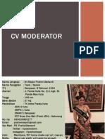 Cv Moderator
