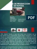 Sistema  de Produccion de Toyota