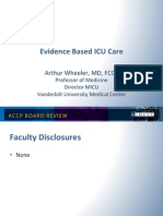 Evidence-Base ICU Care/CCM Board review