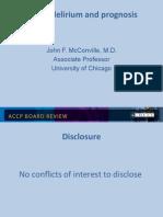 Coma-Delirium in ICU/CCM Board review