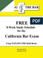 FREE GBX Study Schedule