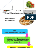 GMP ( Good Manufacturing Practices)